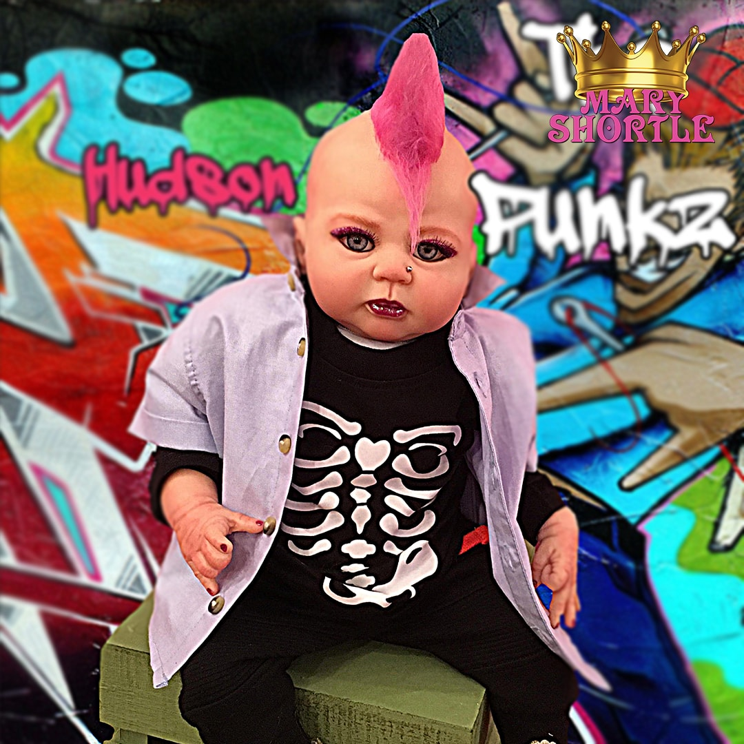 Hudson The Punkz Reborn Mary Shortle