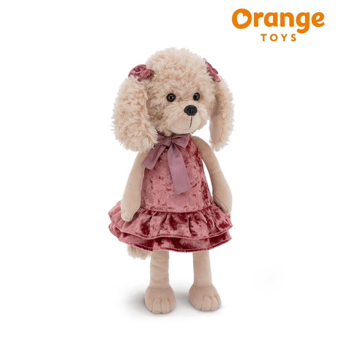 Lucky Dolly Retro Party Lucky Doggy Orange Toys