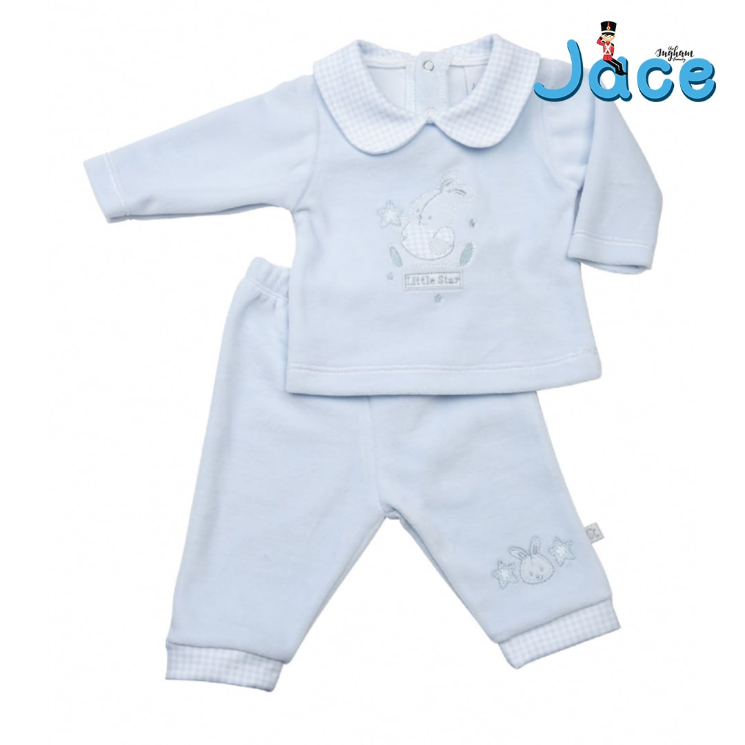 Mary Shortle The Ingham Family Jace Little Star Boys top & trouser