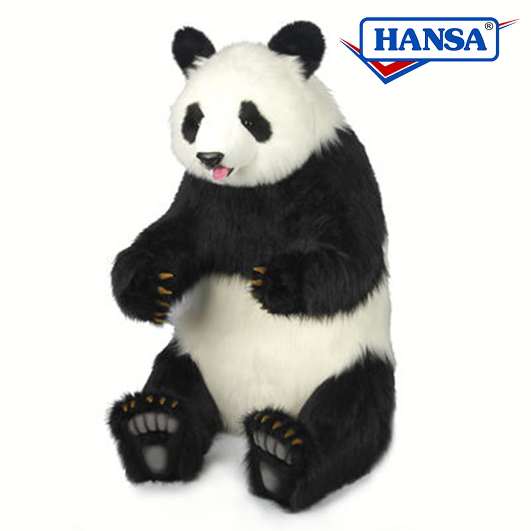 Hansa Panda Bear Sitting Lifesize Mary Shortle
