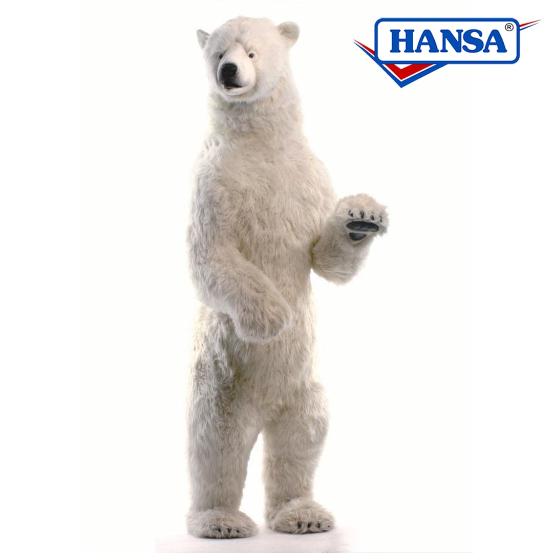Hansa Polar Bear Standing Lifesize Mary Shortle