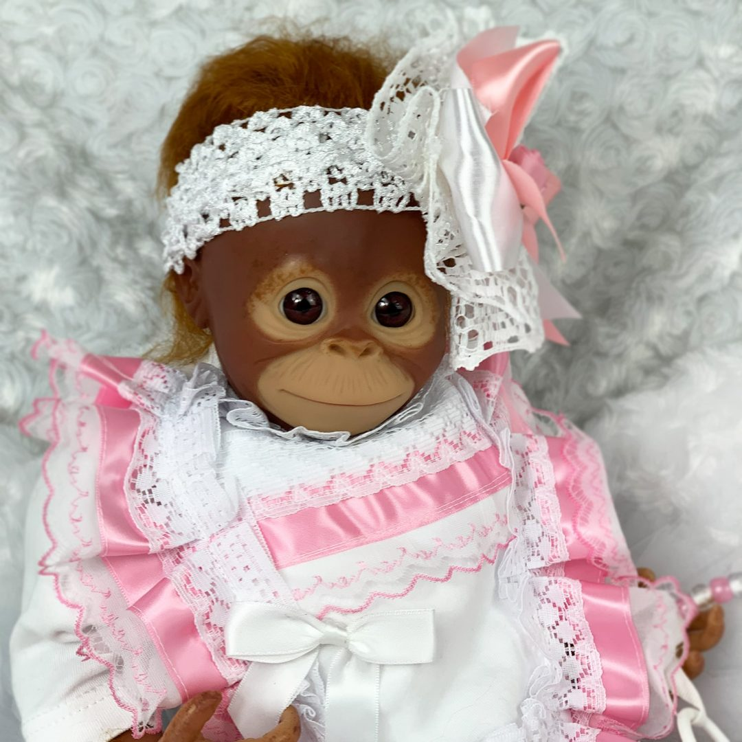 Miss Monkey Reborn Monkey Mary Shortle