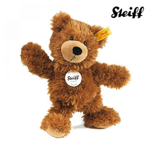Charly Dangling Teddy Bear Brown