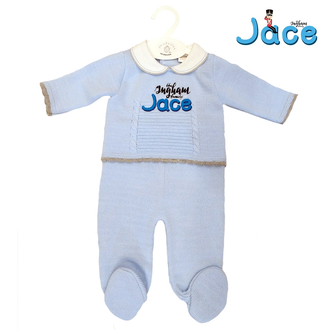 Jace Ingham Knitted 2 Piece Suit Mary Shortle