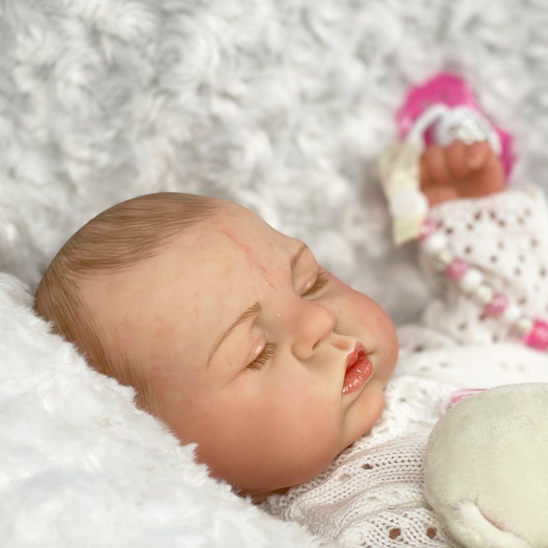Sleepy Head Full Bodied Baby Girl Mary Shortle 2-min