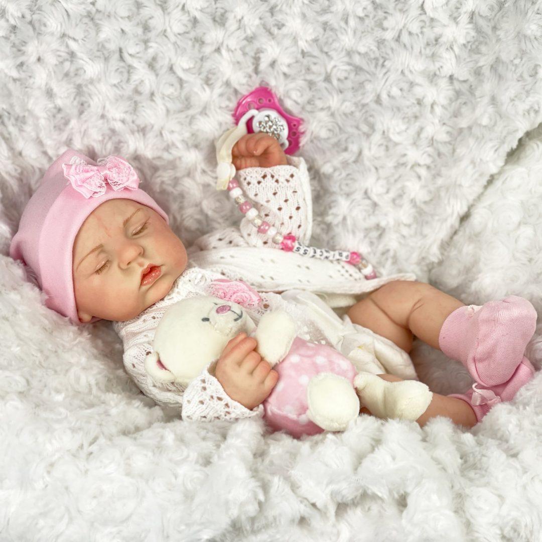 Sleepy Head Full Bodied Baby Girl Mary Shortle -min