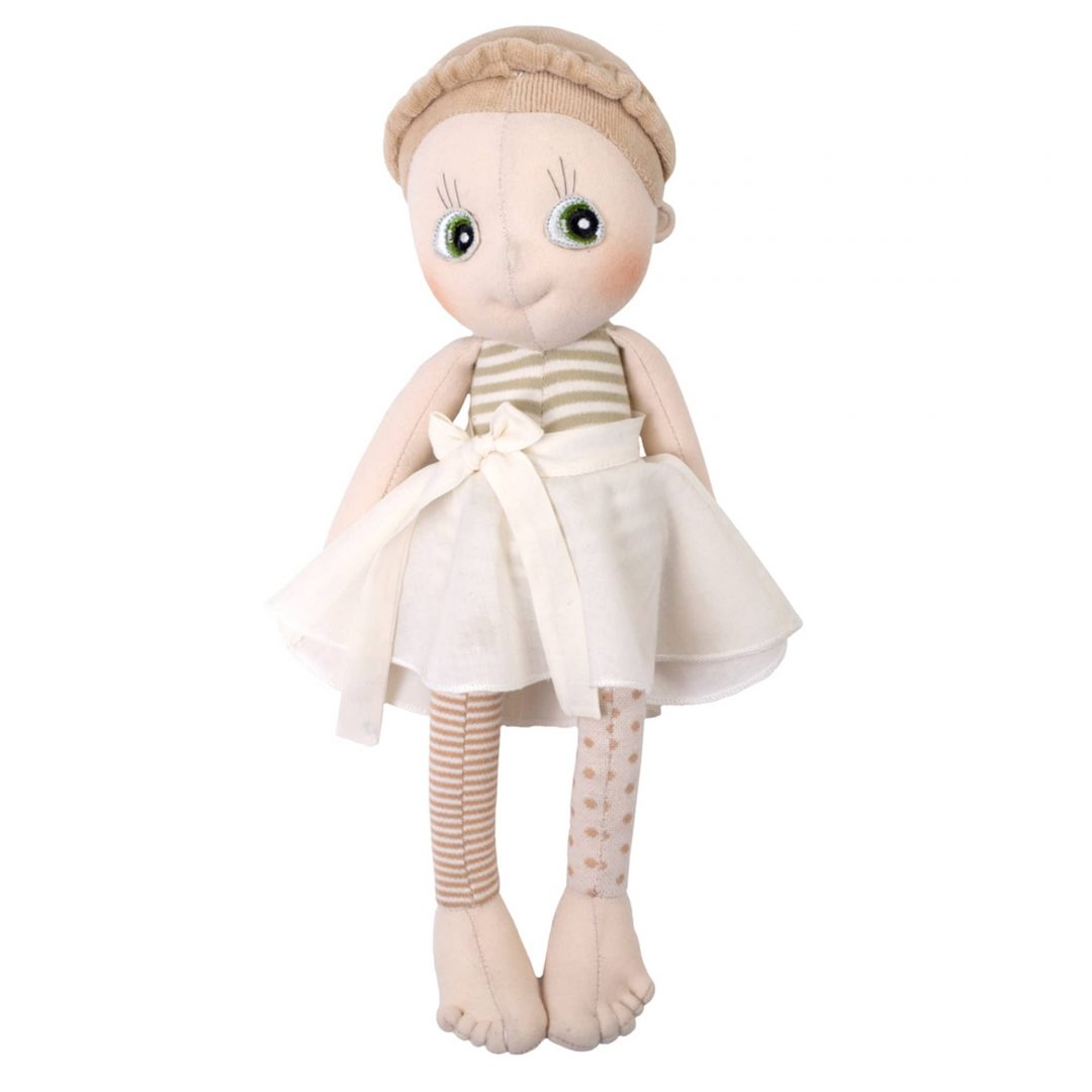 Rubens Barn Ecobuds Hazel Doll Mary Shortle