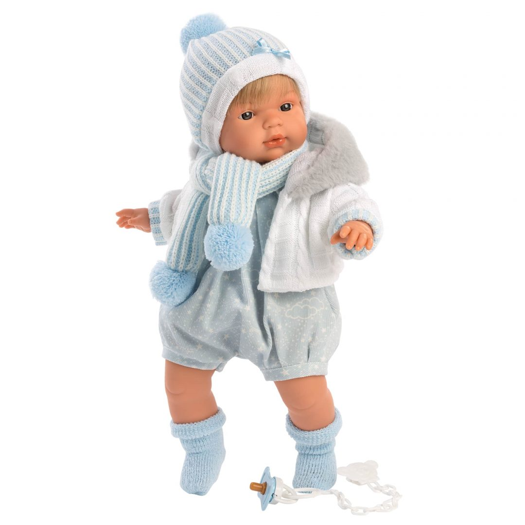 Mason Llorens Boy Play Doll Mary Shortle