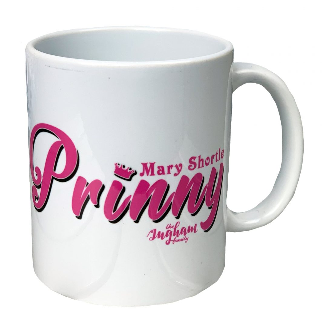 Prinny The Ingham Family Mug 2 Mary Shortle