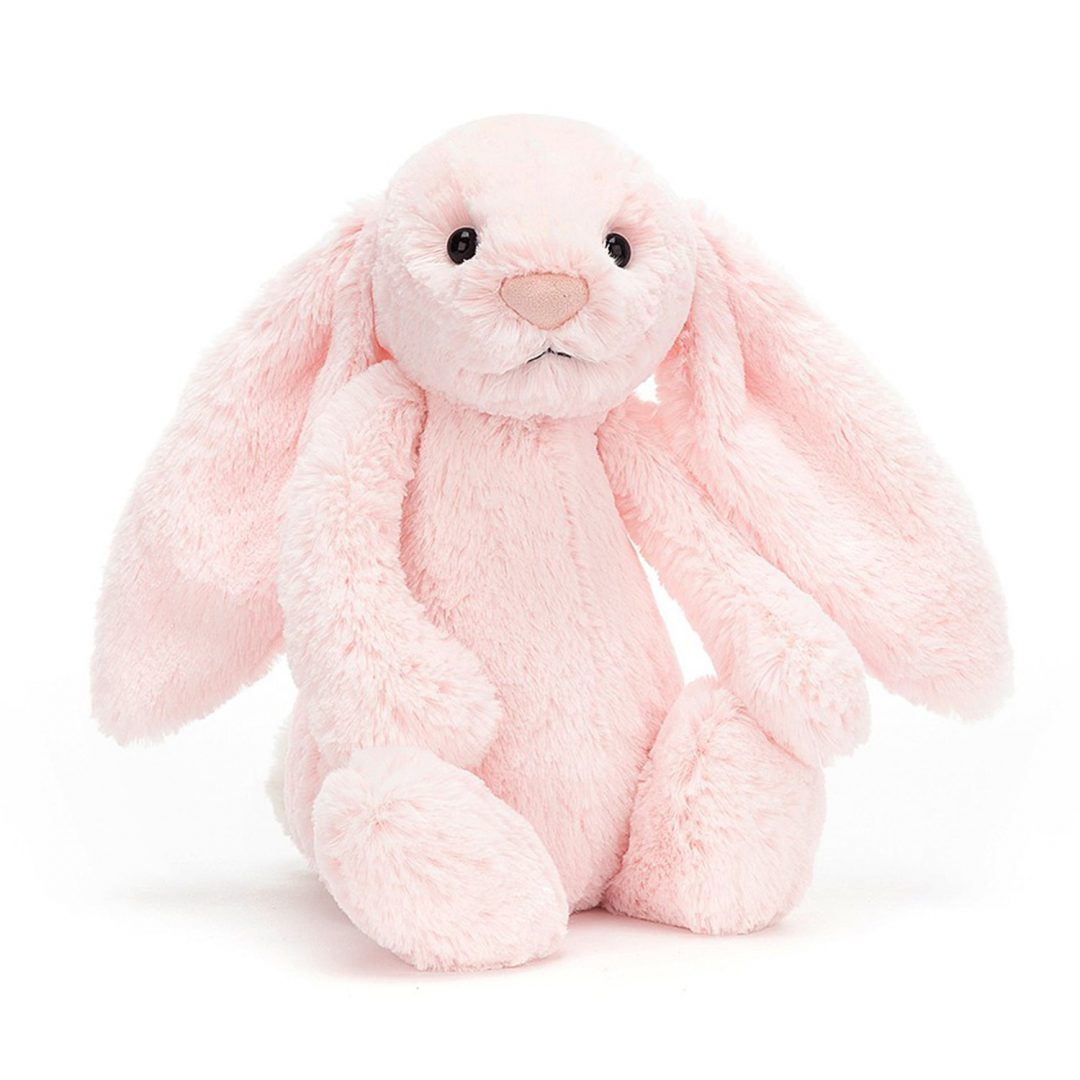 Bashful Pink Bunny Medium Jellycat Teddy Mary Shortle
