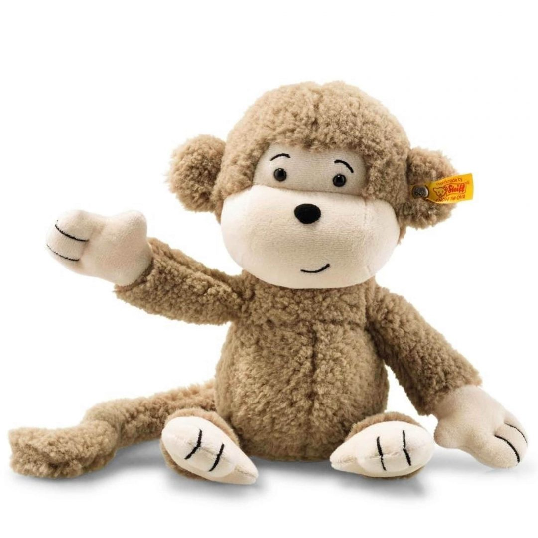 Soft Cuddly Friends Brownie Monkey Steiff Teddy Bear Mary Shortle