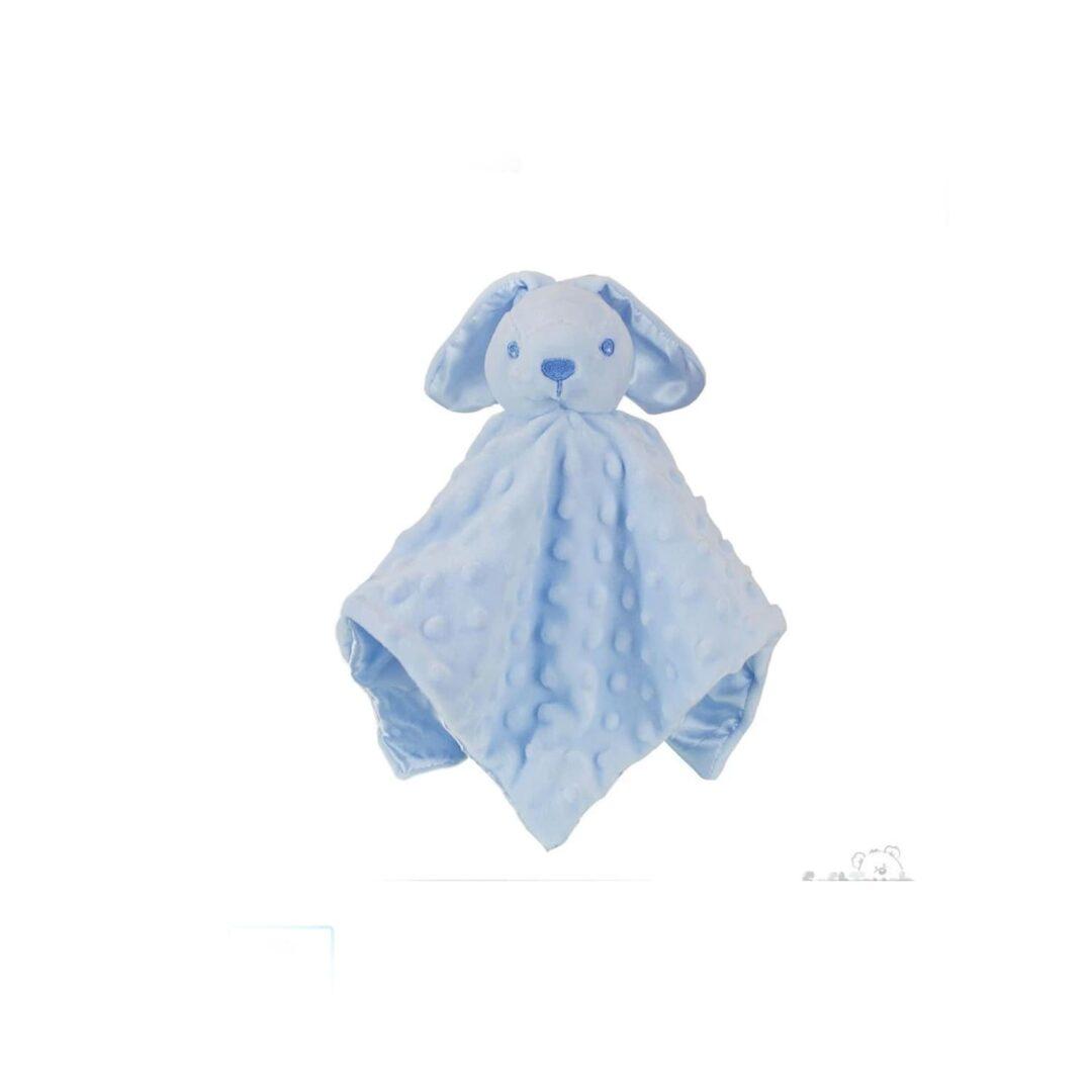 Blue Baby Bunny Comforter-min