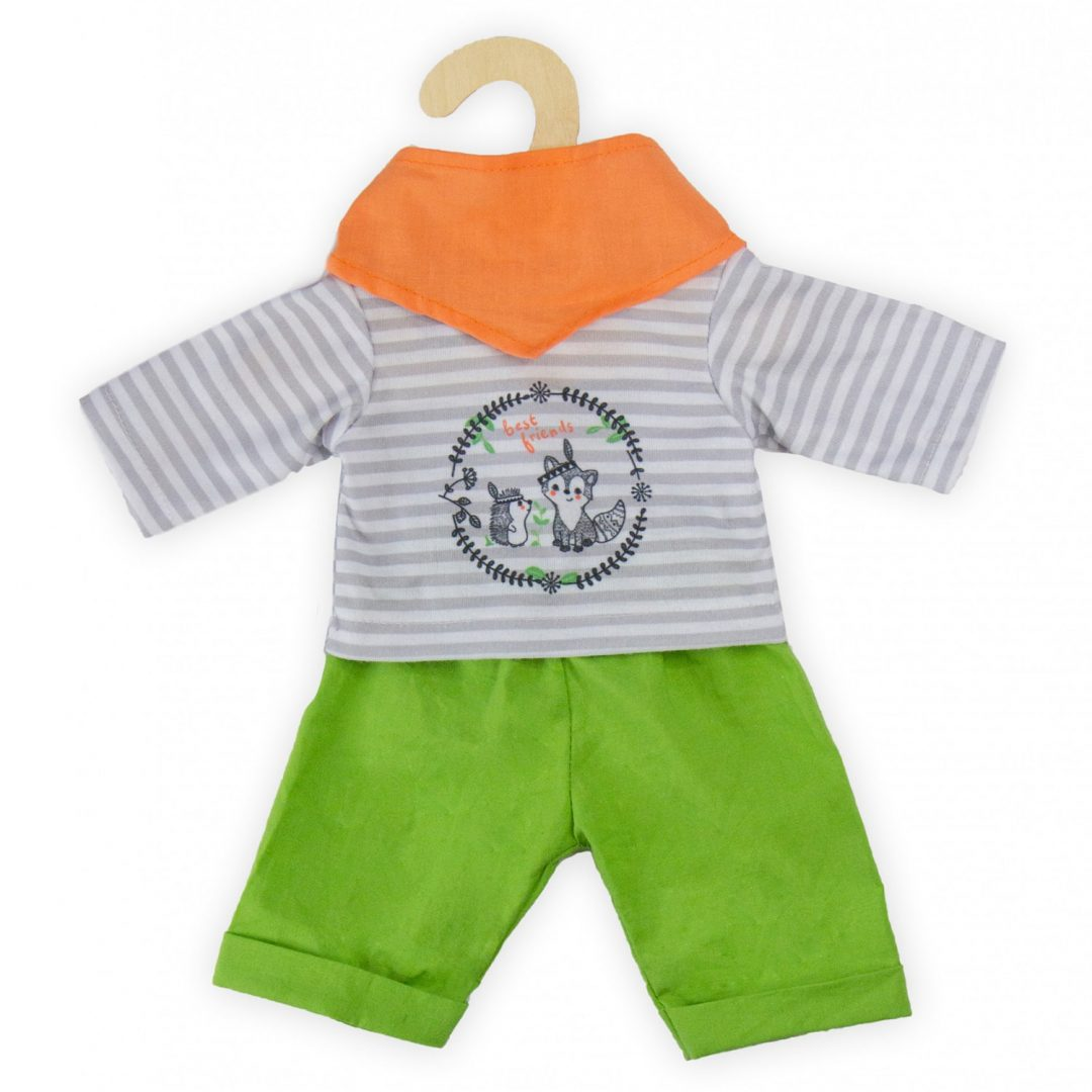 Foxy 3 Piece Outfit Clothes Mary Shortle