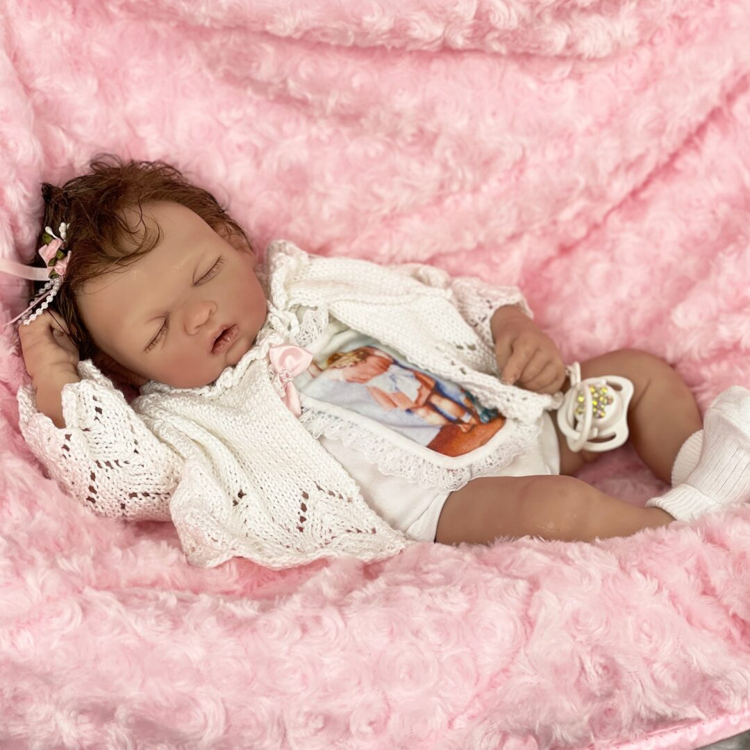 Sweet Girl Silicone Baby 1-min