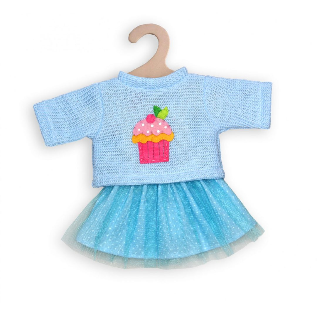Cupcake Pullover with tulle skirt Mary Shortle