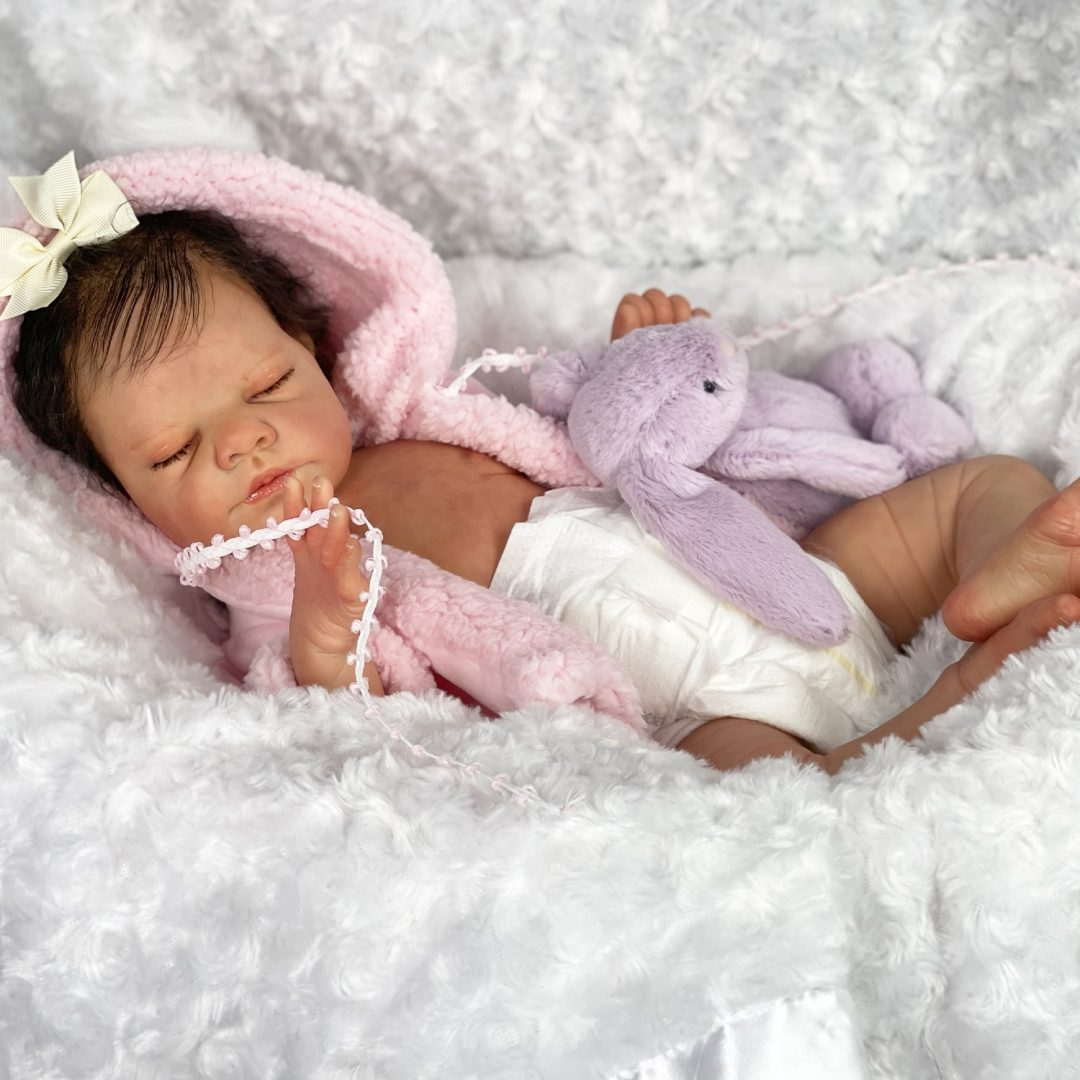 Ellisann Reborn Baby Doll Mary Shortle 1-min