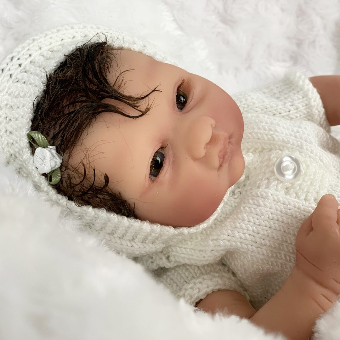 Poppy Partial Silicone Baby Girl Doll Mary Shortle