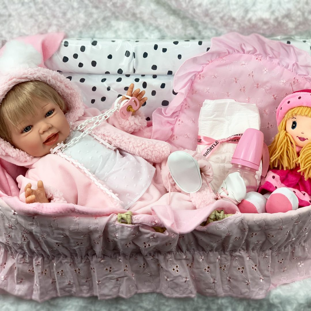 Little Smiler Play Doll Hamper Mary Shortle