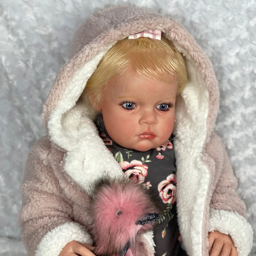 Louisa Reborn Baby Doll Mary Shortle 1-min
