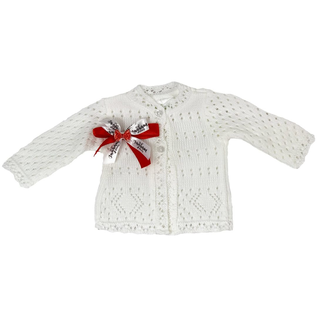 The Ingham family Christmas Cardigan Mary Shortle