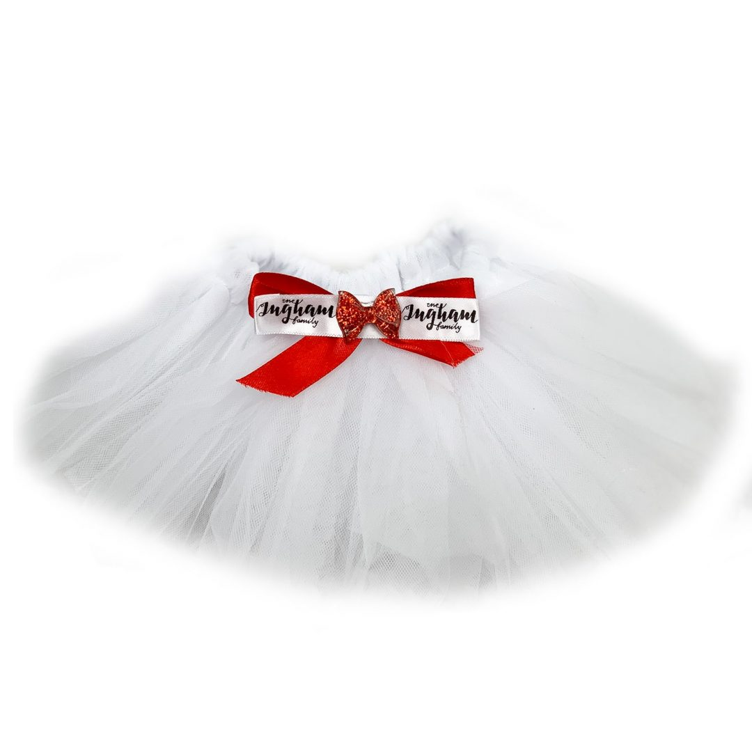 The Ingham family Christmas Deluxe Tutu Mary Shortle