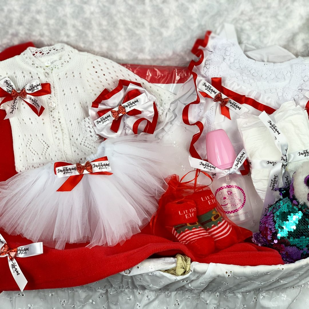 The Ingham family deluxe doll Christmas hamper Mary Shortle