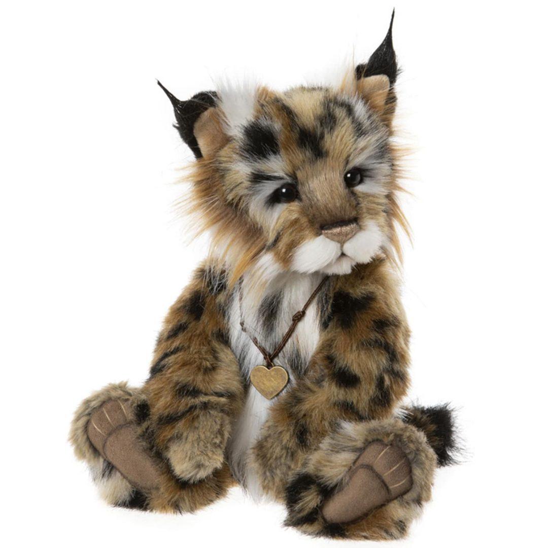 Charlie Bears Mischief Maker 2020 Lynx Cub Teddy