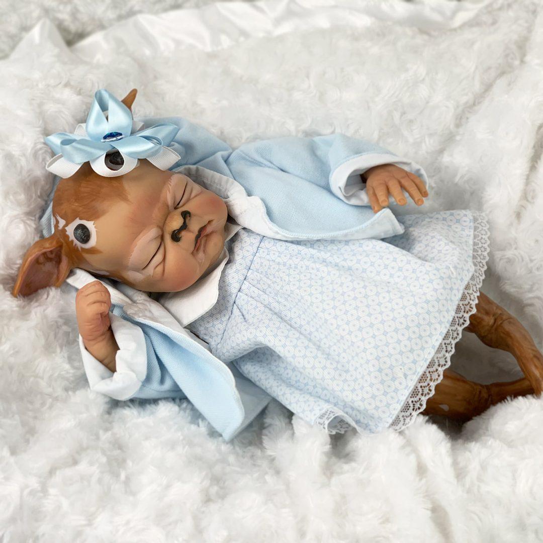 Finoka Fawn Baby Doll Mary Shortle