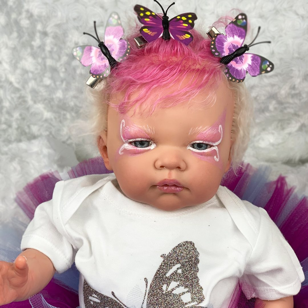 Luna Fantasy Butterfly Reborn Baby Doll Mary Shortle
