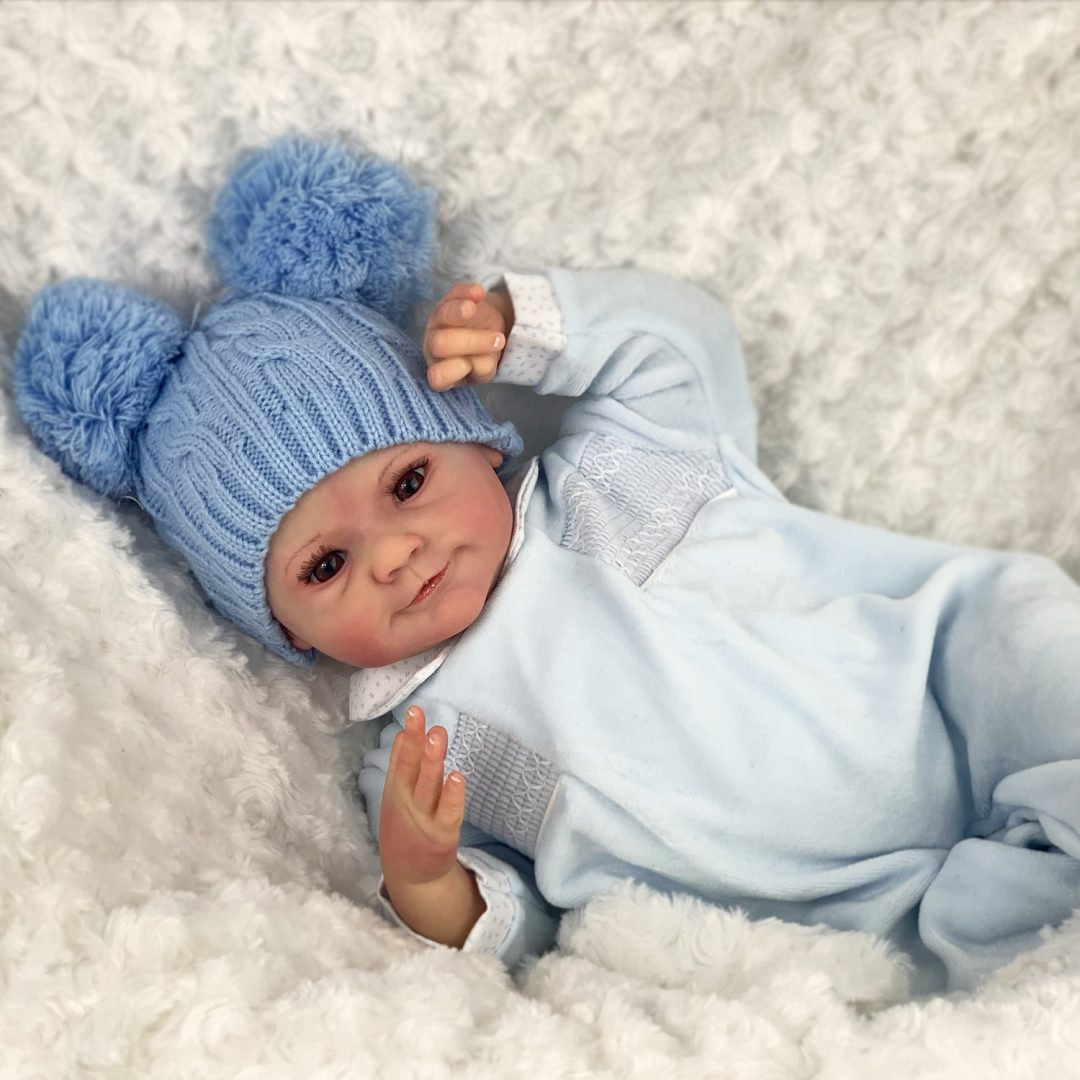 Mikey Reborn Baby Doll Mary Shortle