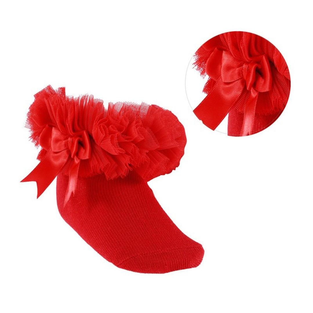 Red Tutu Socks