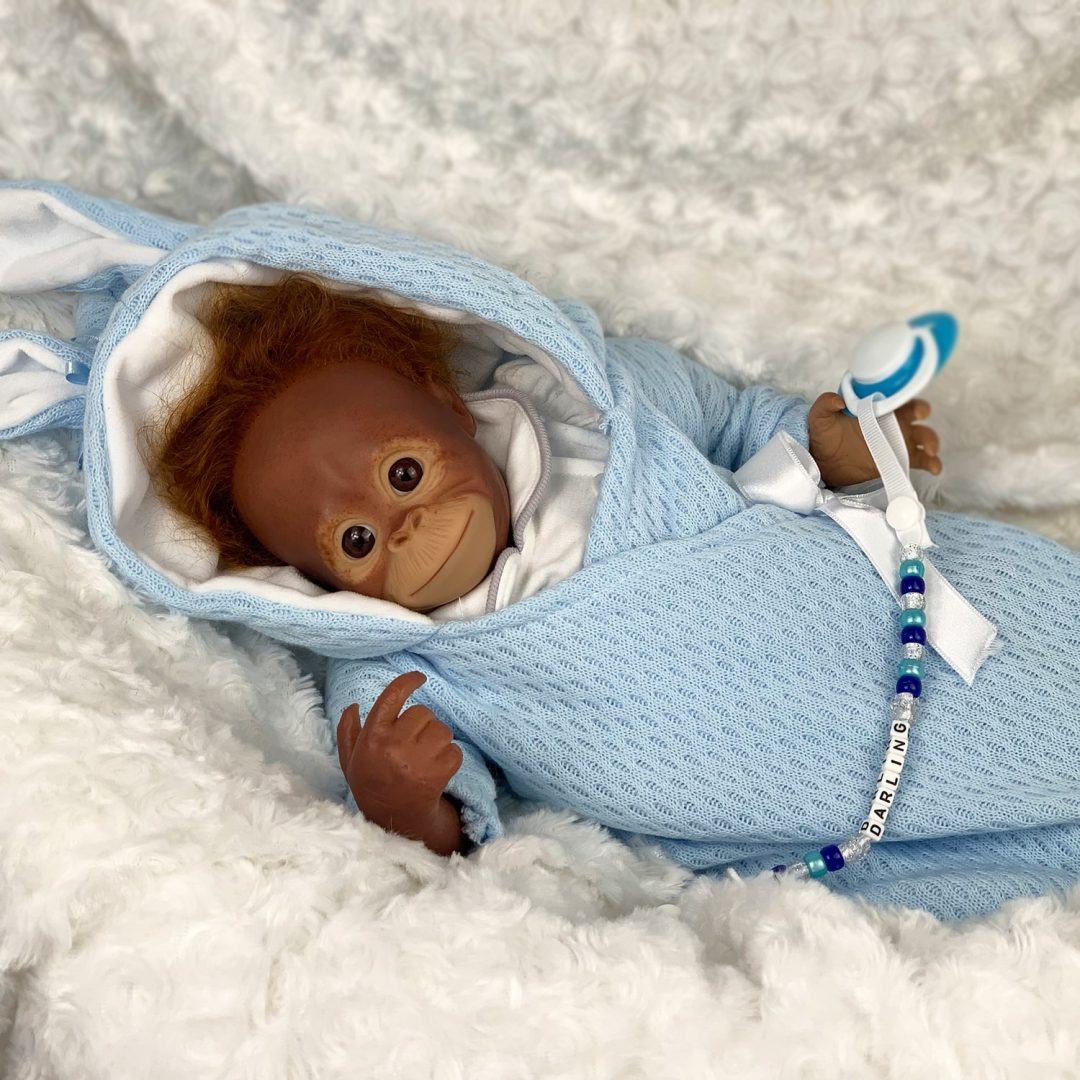 Sidney Reborn Monkey Doll Mary Shortle