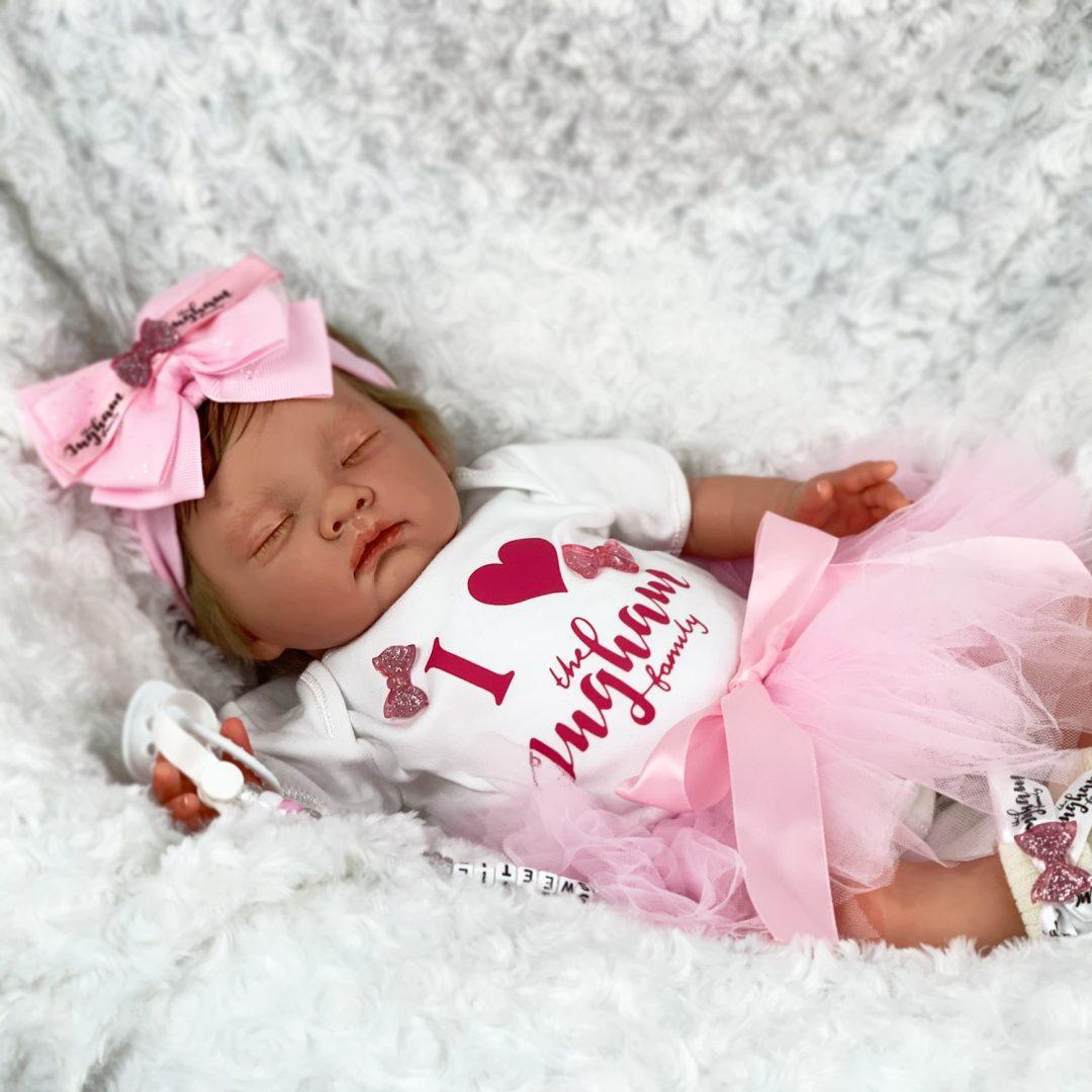 Asleep Avia Baby Doll The Ingham Family Mary Shortle