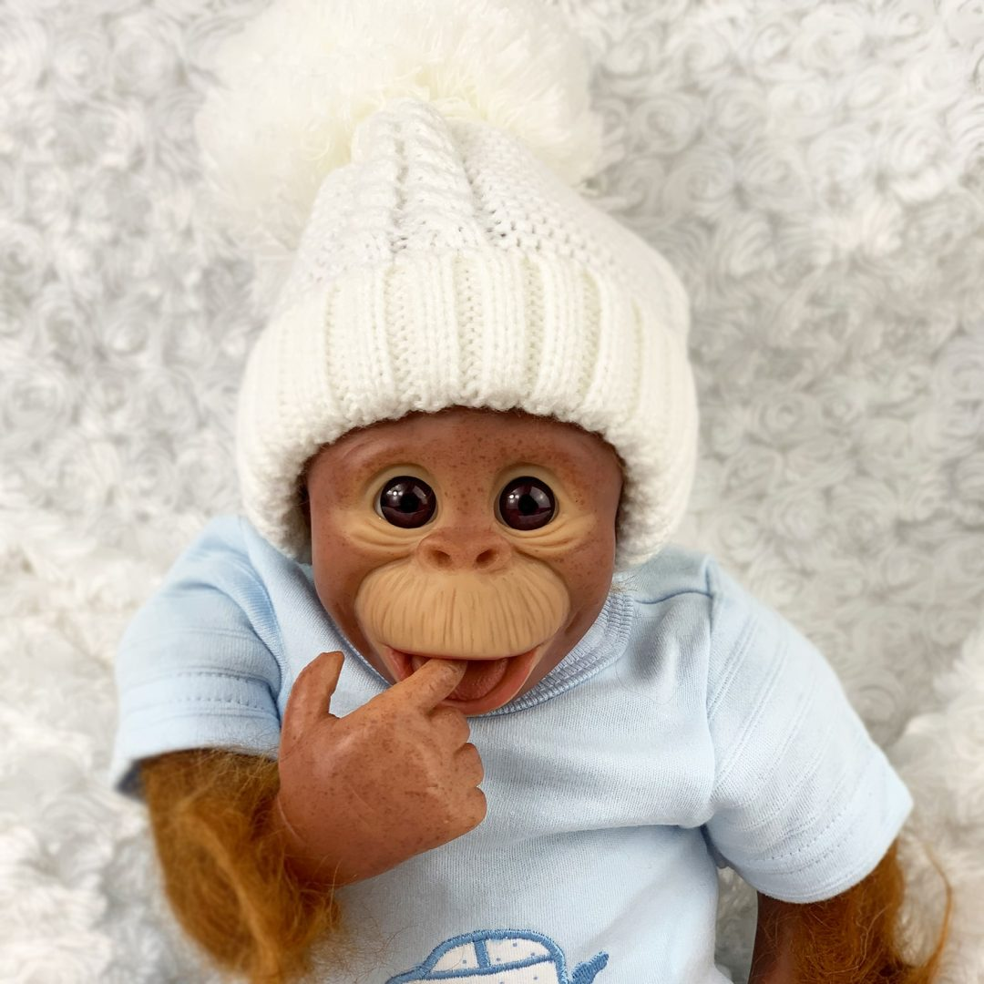 Bonzo Reborn Baby Monkey Doll Mary Shortle