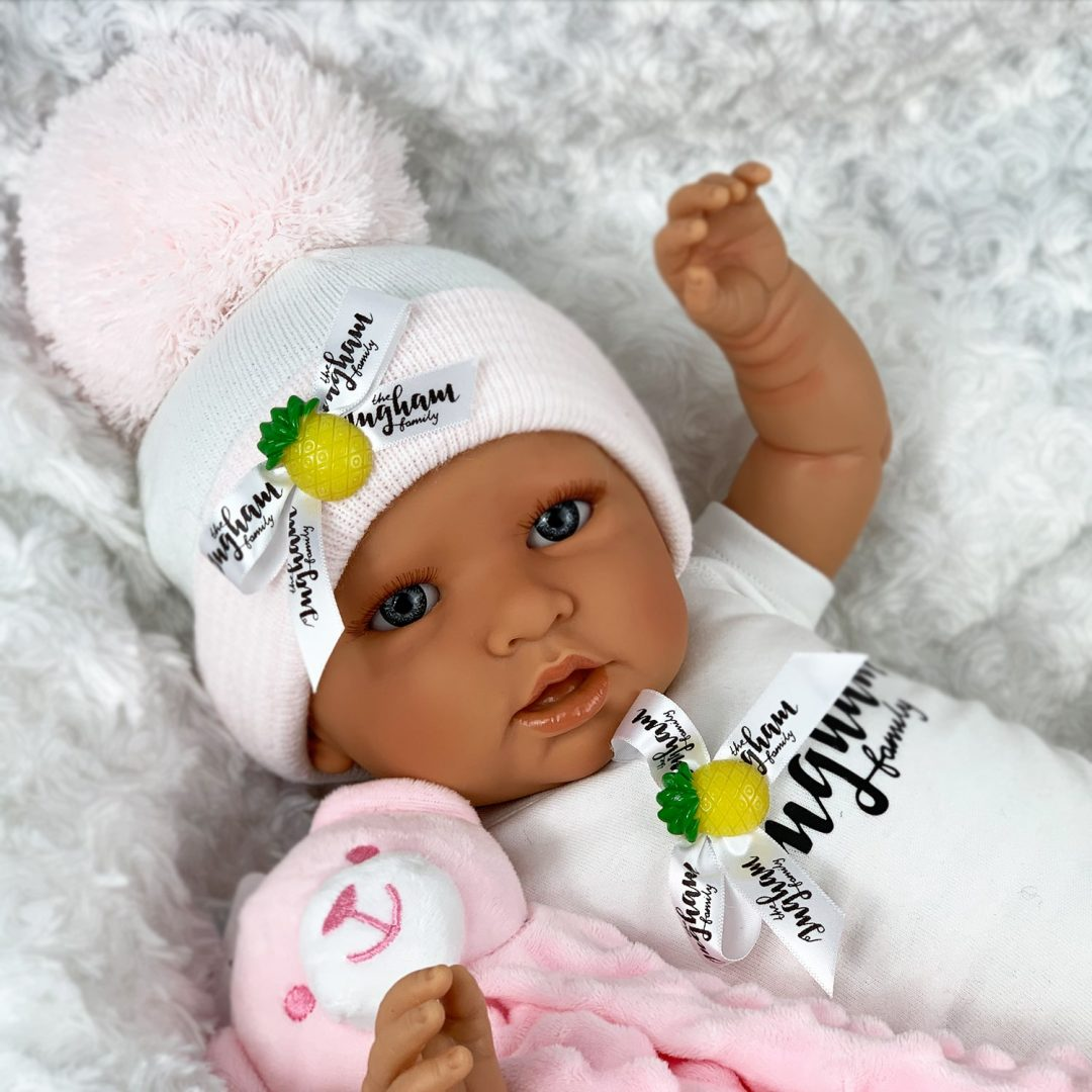 Chloe and Comforter Baby Doll The Ingham Family Mary Shortle