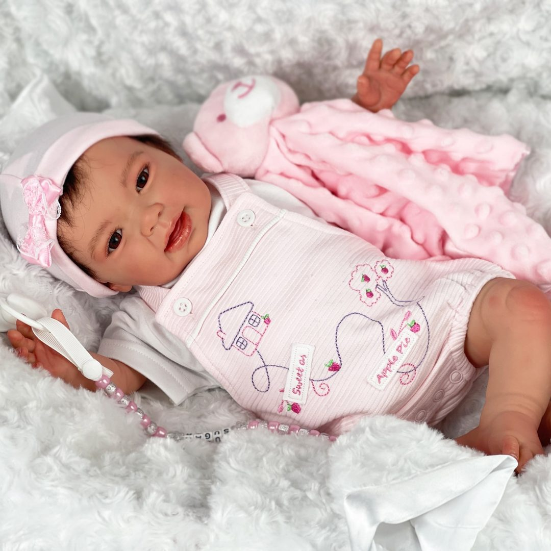 Apple of my Eye Reborn Baby Girl Doll Mary Shortle