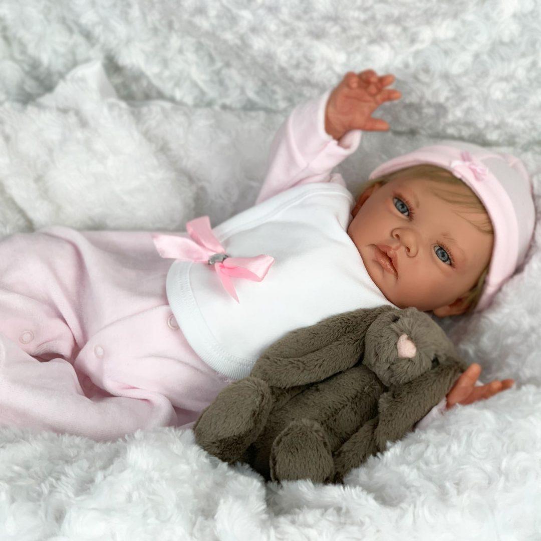 Ash Blonde Sofia Reborn Baby Doll Mary Shortle