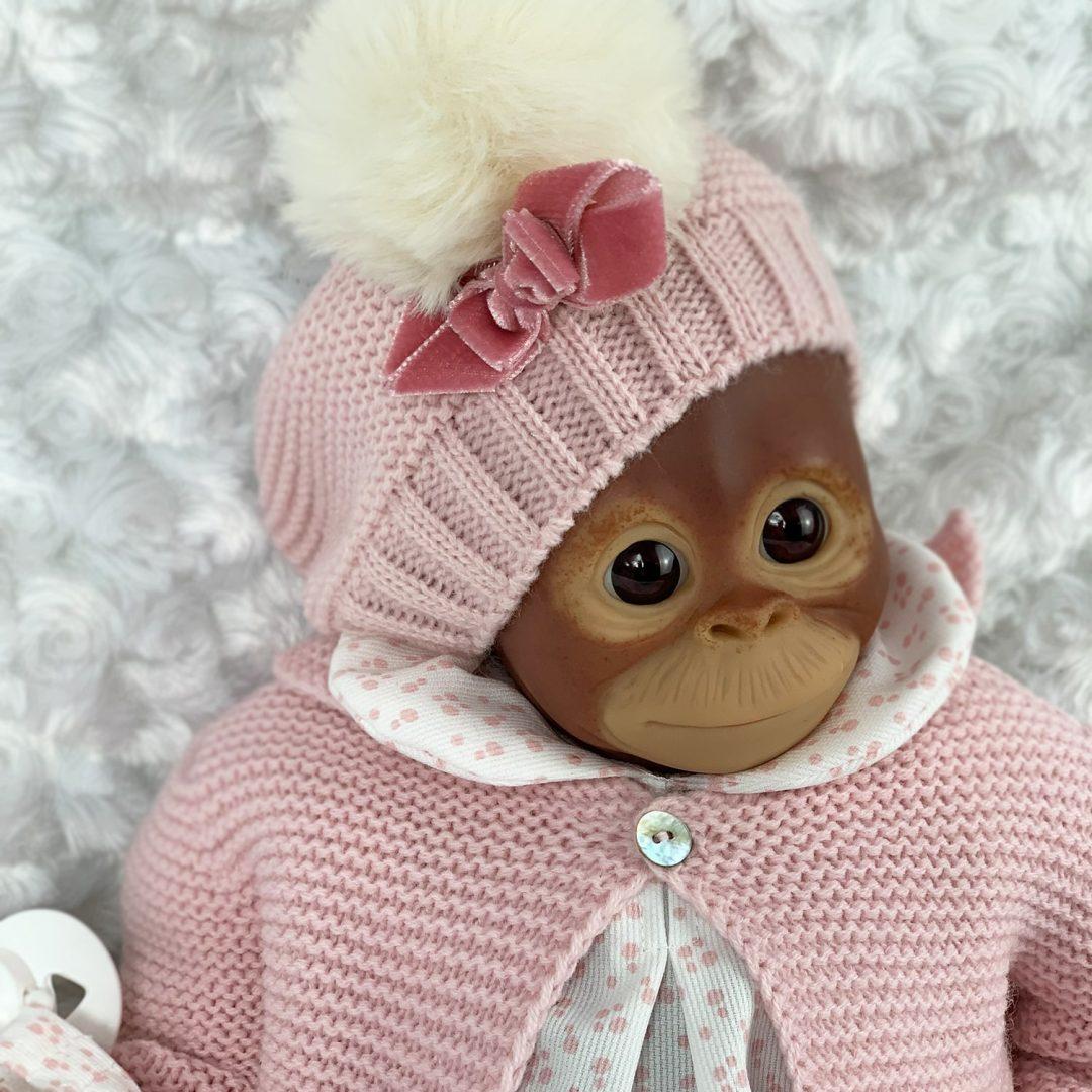 Mila Monkey Reborn Girl Mary Shortle