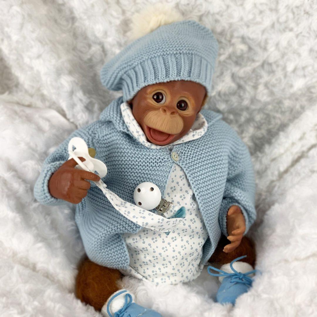 Milo Monkey Reborn Boy Mary Shortle