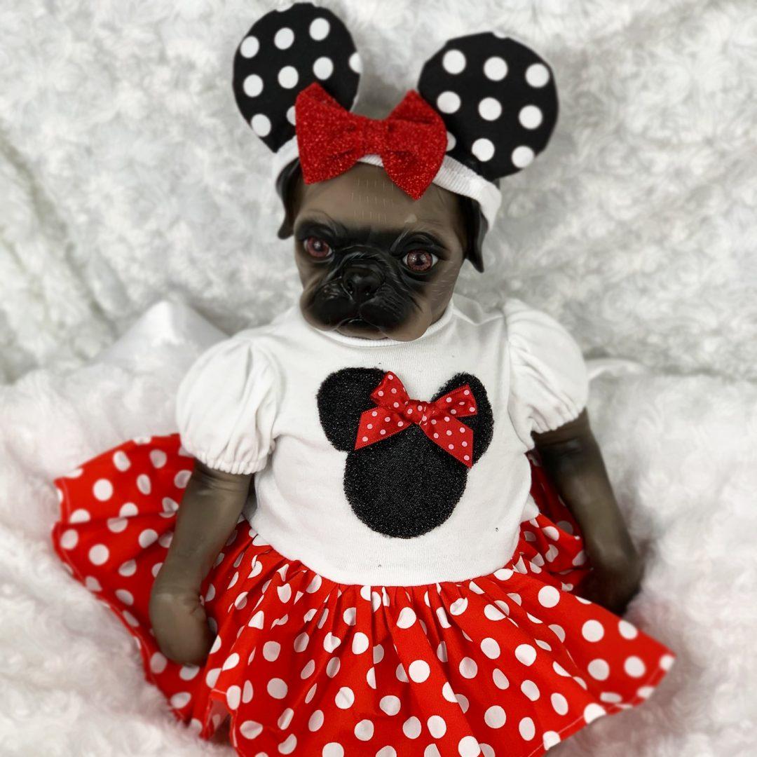 Moxie Reborn Pug Doll Mary Shortle
