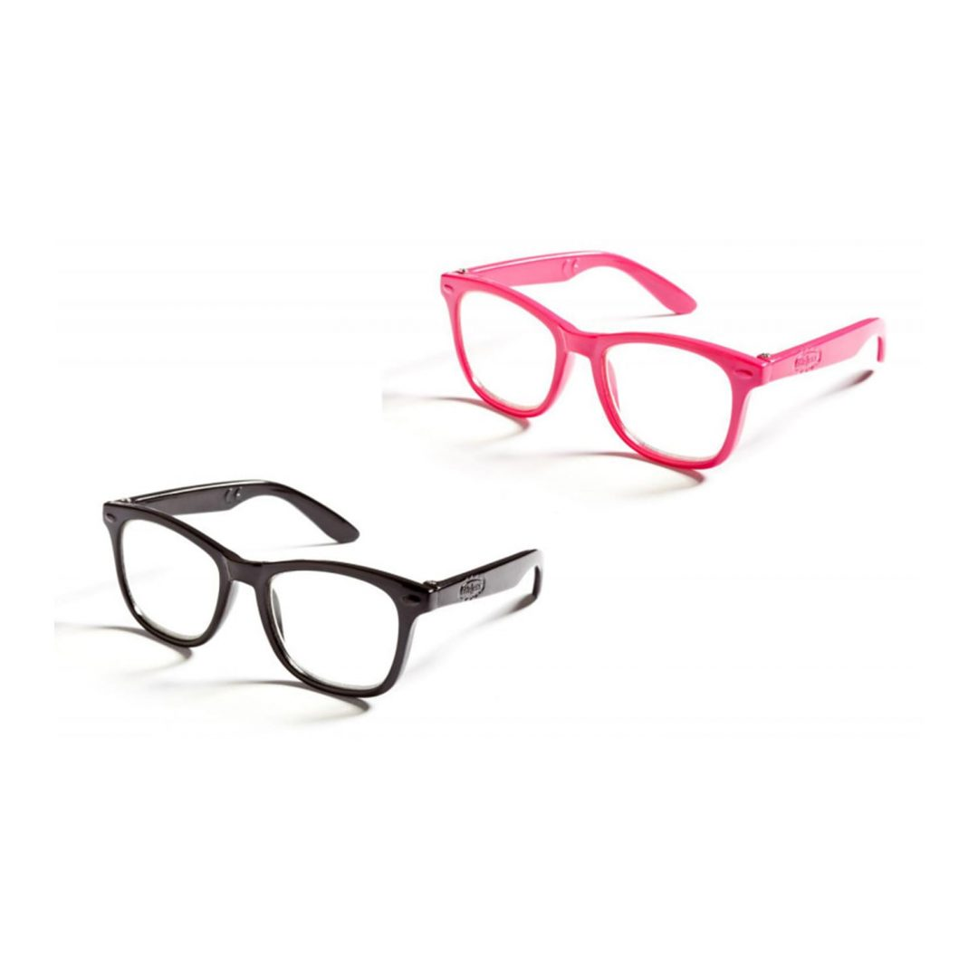 Red and Pink Glasses