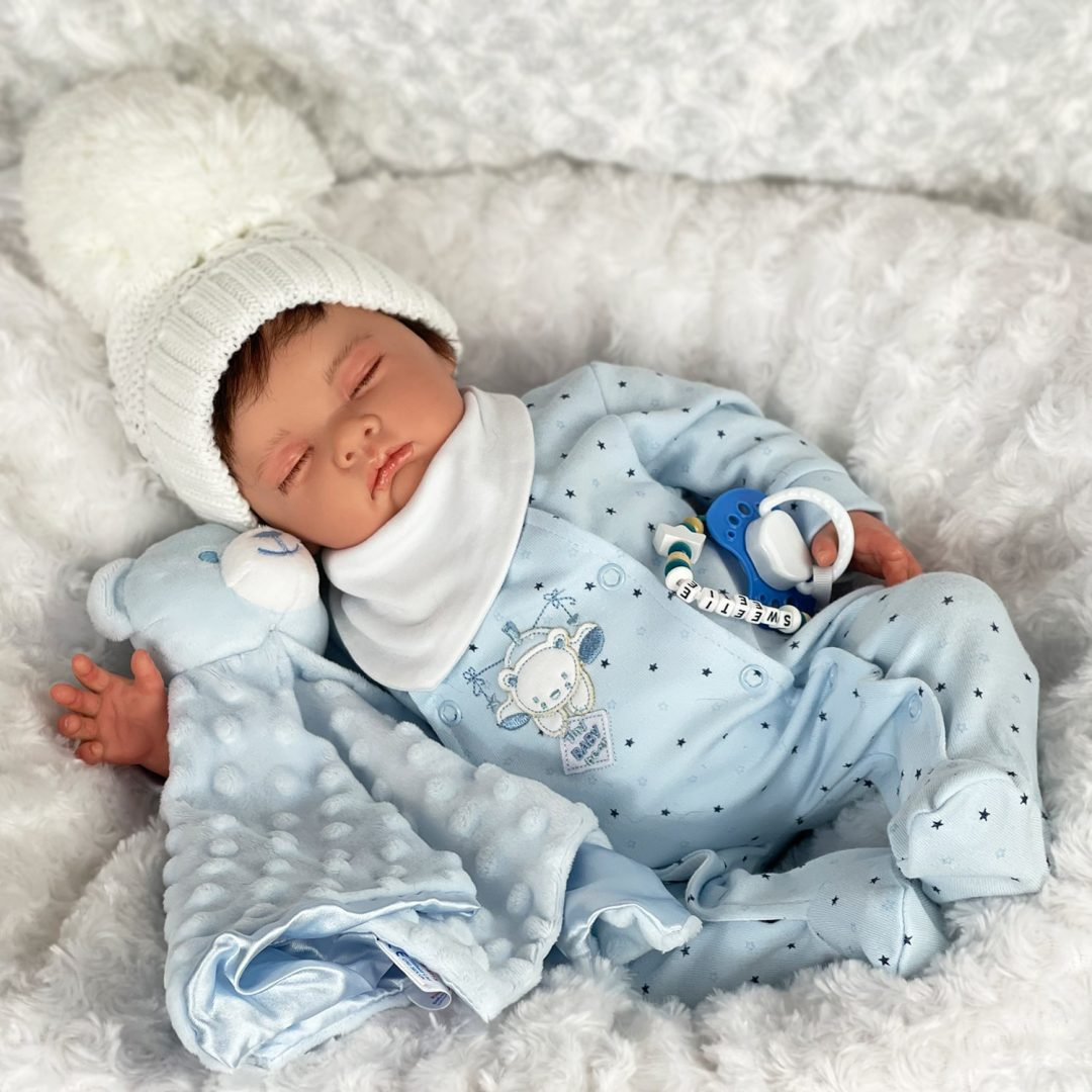 Stevie-Joe Reborn Baby Doll Mary Shortle