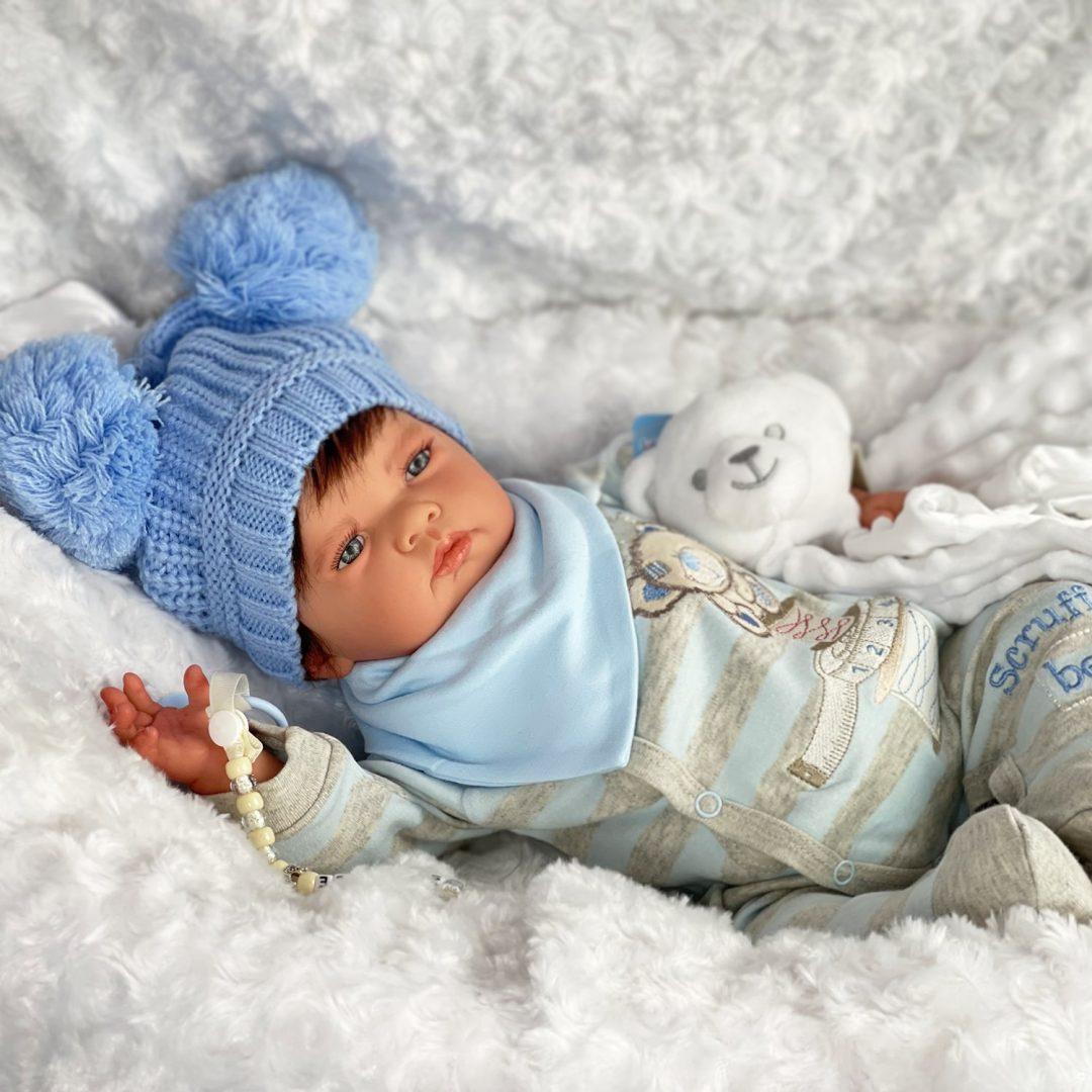 Teddy Reborn Baby Doll Mary Shortle