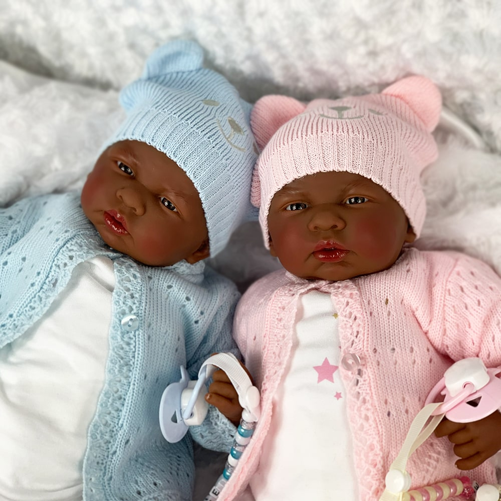 Tiana and Trevon Reborn Baby Twins Mary Shortle