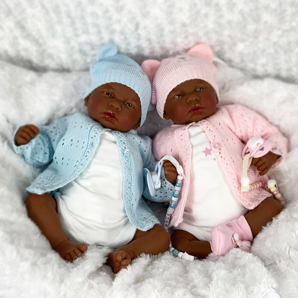 vTiana and Trevon Reborn Baby Twins Mary Shortle