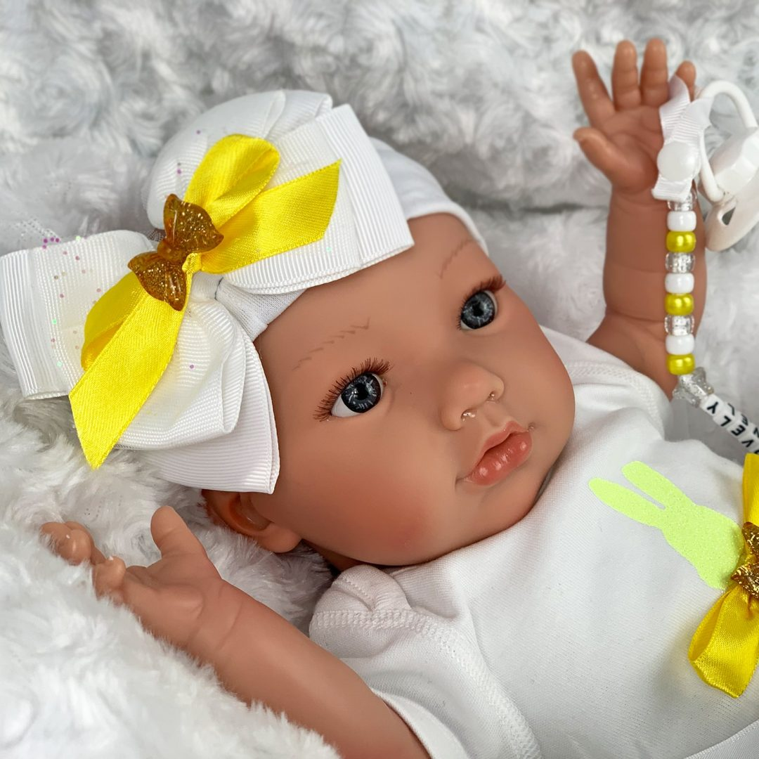 BunnyKins Reborn Girl Doll Mary Shortle