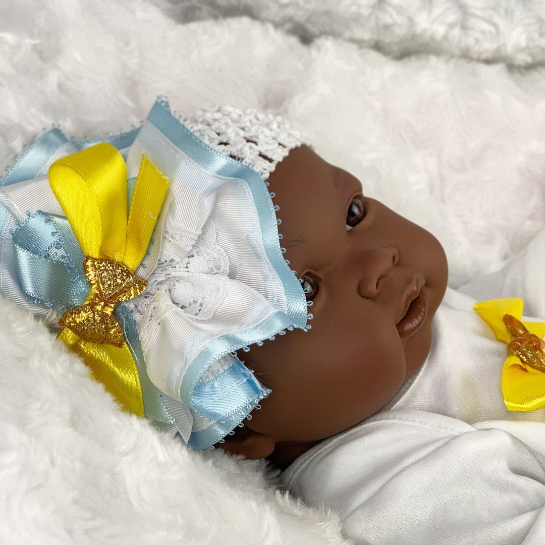 Easter Pascal All Vinyl Baby Girl Doll