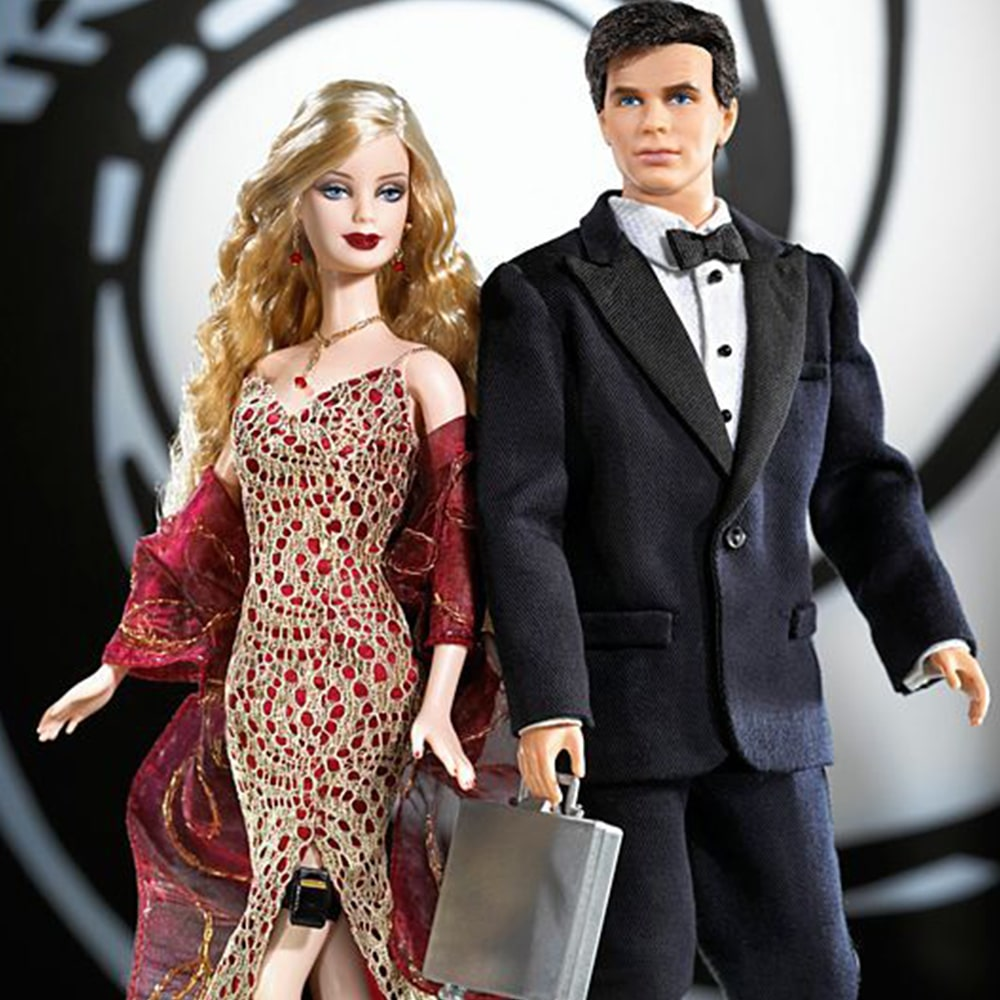 James Bond 007 Ken and Barbie Giftset