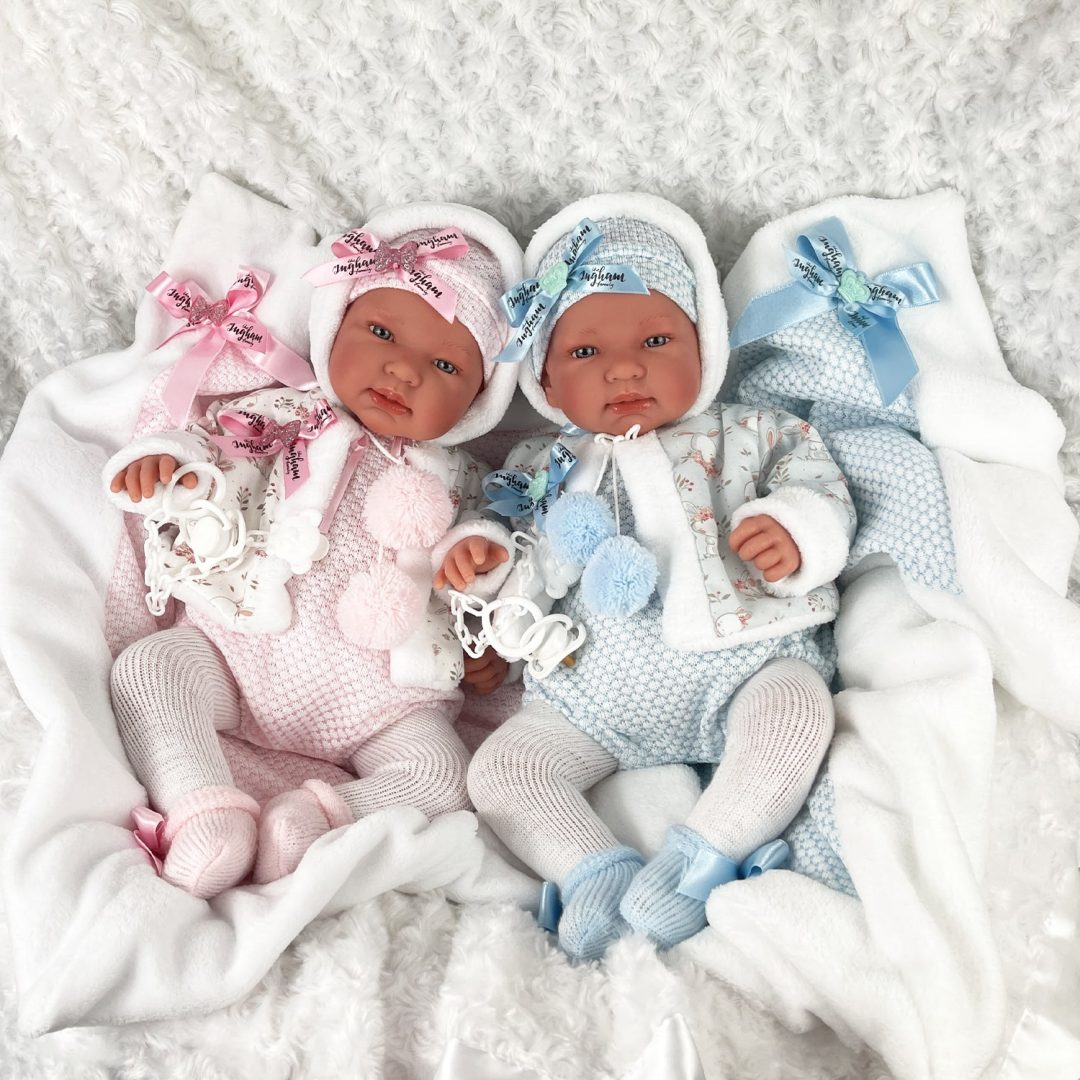 Charlie and Chantelle Baby Doll Mary Shortle 1-min