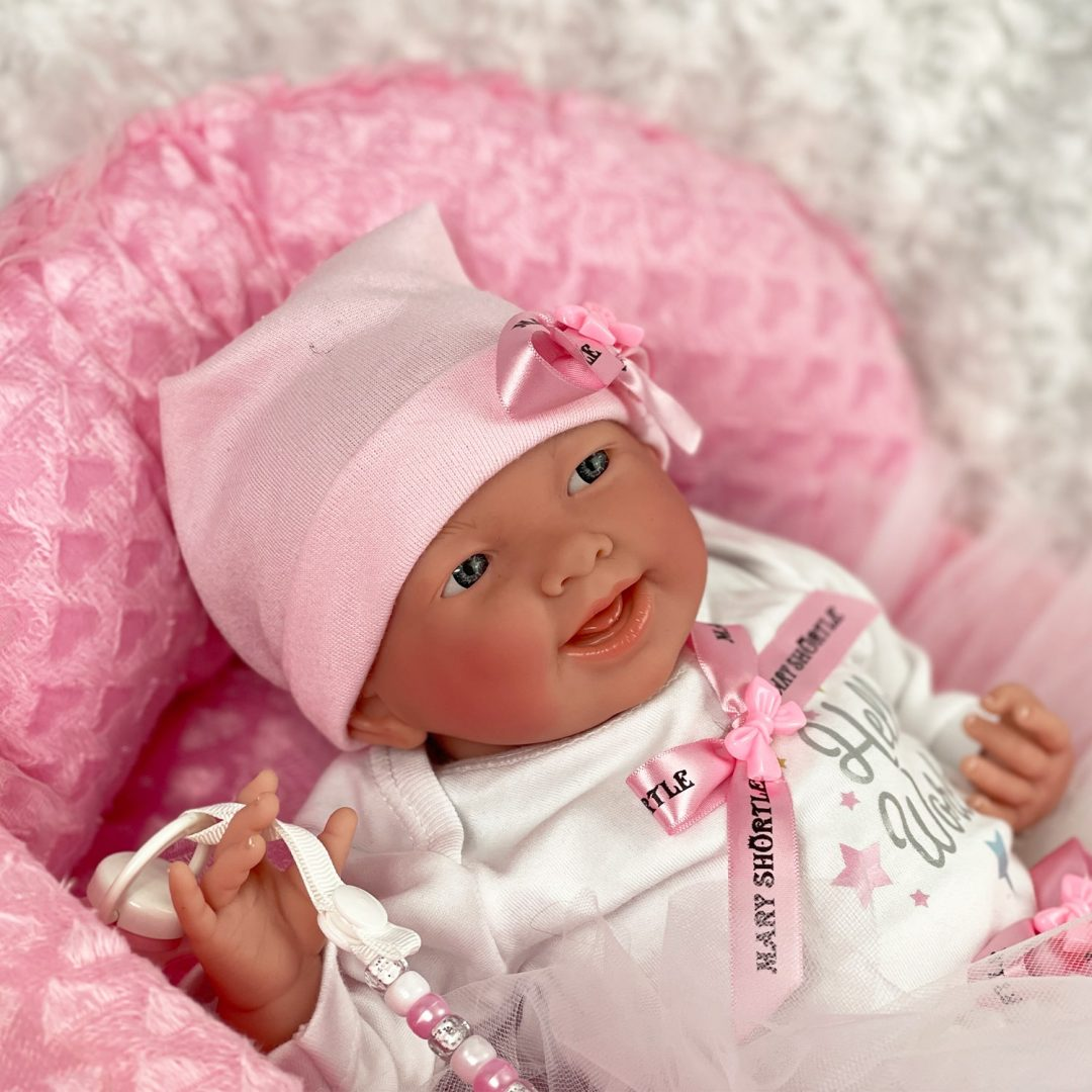 Princess Mary Reborn Baby Doll Mary Shortle 1-min